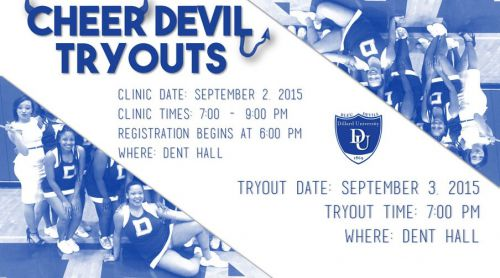 Cheer Devil Tryouts
