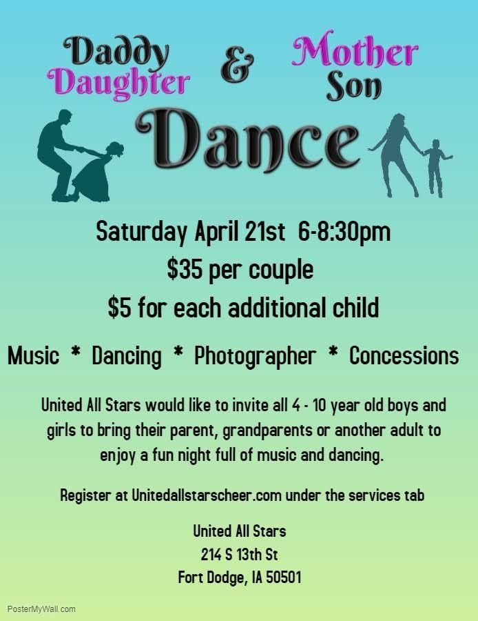 United All Stars LLC DaddyDaughter MotherSon Dance
