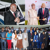 Chinwel Ejiofor's sister and CNN anchor, Zain Asher meets Tony Elumelu, Nigerian celebrities in Lagos