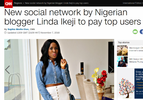 Yay! Linda Ikeji Social (LIS) featured on CNN