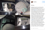 Lady narrates how she was robbed in traffic at Eko bridge last night while fellow road users looked on