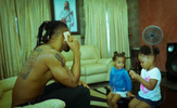 Flavour shares adorable photo with his daughters