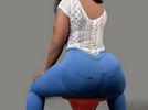 How Abuja big babe enlarged her back and front without going for surgery