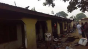 Photos: Fire raze down apartment in Makurdi, Benue State, damages property worth millions