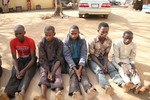 Photos: 19 suspected kidnappers arrested in Bauchi State