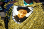 2015: Nigeria Army, Navy and Police Campaign For Jonathan As Female Officers Join Mass Rally In Abuja