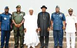 B'Haram: Don't sleep, Jonathan warns service chiefs