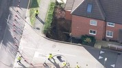 Homes evacuated as 20ft-deep sinkhole appears in UK