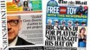The front pages: Michael Gove's 'raid' and a BBC row