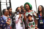 Photos: PDP Governors, Nollywood stars at GEJ's campaign flagoff