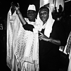 Wizkid pictured with the President of Gambia