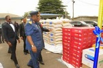 Photos: Association of Pharmaceutical Importers of Nigeria donate drugs and food to Nigerian troops