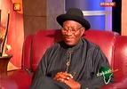 GEJ on AIT this morning, speaks on Chibok girls, Interim govt, Jega, others