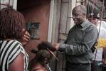Photo: Governor Amaechi the hairdresser..:-)