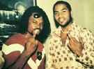 Major throwback photo of Moses Inwang and Ramsey Noah...
