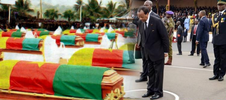 Cameroonians angry after their President is photo-shopped into soldiers funeral