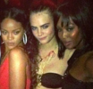 Naomi Campbell & Cara Delevingne fight over Rihanna, pull each other's hair