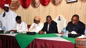 Photos: President Jonathan meets with OPC leaders in Lagos