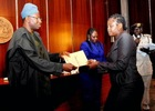 Photos: GEJ gives N5m each to families that lost loves ones at 2014 NIS tragedy