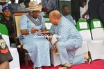 Photo: Akwa Ibom commissioner kneels before the state First Lady