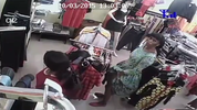 Shoplifting at a store on Allen Avenue Ikeja Lagos caught by CCTV