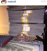 See what Meek Mill posted on instagram