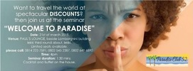 ParadiseClub 52 Seminar: Welcome to Paradise!
