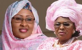 Buhari's wife claps back at Mama Peace, says don't be afraid of jail