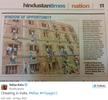Photos: Indian parents climb school wall to help their kids cheat on an exam