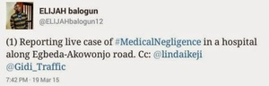 Medical negligence in a hospital in Lagos. Read this shocking story