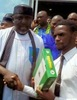 Imo State University students claim they received toy laptops from Gov. Okorocha