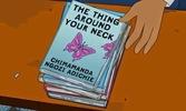 Chimamanda Adichie's book featured in animated sitcom, The Simpsons