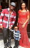 Photos: The Okoyes step out with their handsome son...