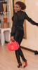 Photos: Annie Idibia stuns in all black ensemble