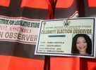 There are celebrity observers for the 2015 elections?
