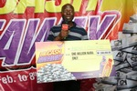 Another millionaire emerges in the Lucozade Ribena Big Cash Give Away promo: read his story!