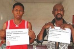 Photo: Father and son arraigned for $4,256 internet scam