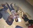 Photo: Corpers serving as INEC adhoc staff sleep on hard floor ahead of tomorrow's election