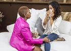 Karrueche opens up to Iyanla, tells how she met Chris, how she made him wait for sex & says she found out about his baby online