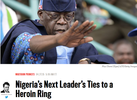 US Daily Beast comes for Bola Tinubu in new article, calls him 'Heroin Kingpin'