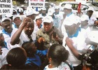 Photos: protest in Abuja over the execution of Nigerians in Indonesia
