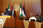 Full text of GEJ's remarks at the presentation of Handing-over notes to Buhari