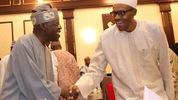 Tinubu reacts to reports that Buhari has put him under security watch, says he will not join Saraki to hinder the govt