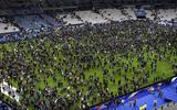 Suicide bomber had ticket to the match but hero security guards stopped him