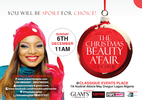 Win beauty hampers & celebrate a beauty-full holiday season at the Christmas Beauty A'Fair  6th Dec
