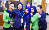 Malaysia's first sharia-compliant airline makes its debut flight