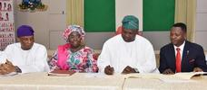 Governor Ambode signs Y2016 Appropriation Bill into law, promises that the budget would be faithfully implemented
