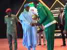 Photos: Buhari host and rewards victorious sports men and women