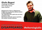 Tortured Italian student died 'slow death': Egypt official