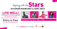 Yudala storms Abuja this Valentine weekend with Gyming with the Stars and Sinach Live in Concert